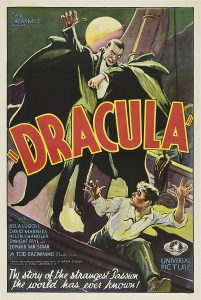 Dracula 1931 Style F Film Poster
