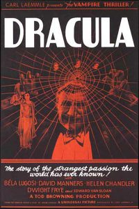 Rare Dracula Movie Posters. Dracula 1931 Style A Movie Poster