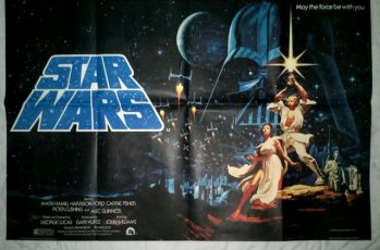Star Wars UK Quad Poster