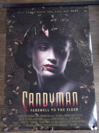 Candyman 2 Farewell To The Flesh Original Ds Movie Poster Tony Todd 95